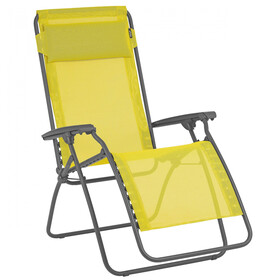 Lafuma Mobilier R Clip Campingstol Batyline gul/grå